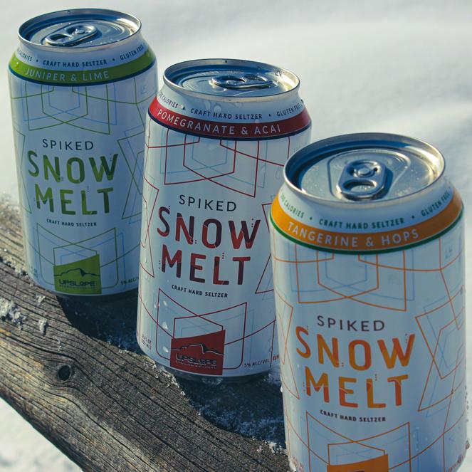 Introducing Spiked Snowmelt-Upslope's craft hard seltzer
